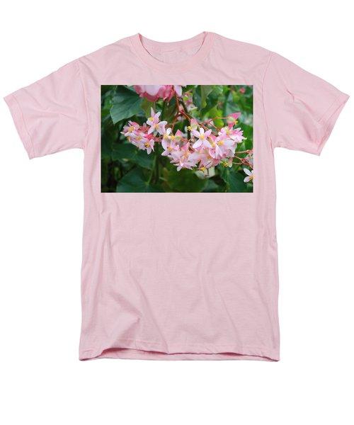Delicate Flowers Men's T-Shirt  (Regular Fit) by Karen Nicholson