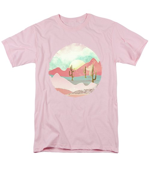 Desert Mountains Men's T-Shirt  (Regular Fit) by Spacefrog Designs