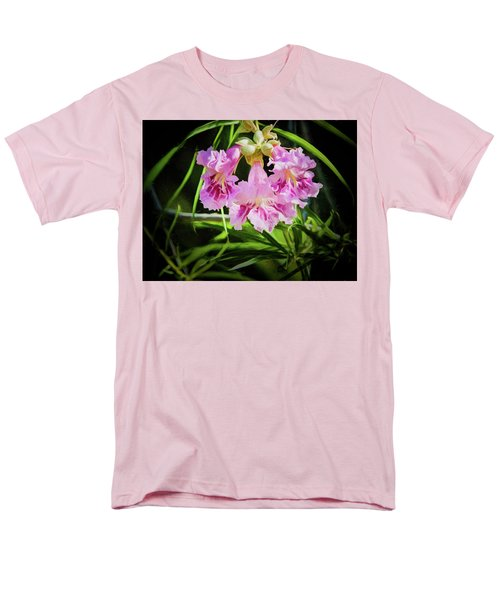 Men's T-Shirt  (Regular Fit) featuring the photograph Desert Willow by Penny Lisowski