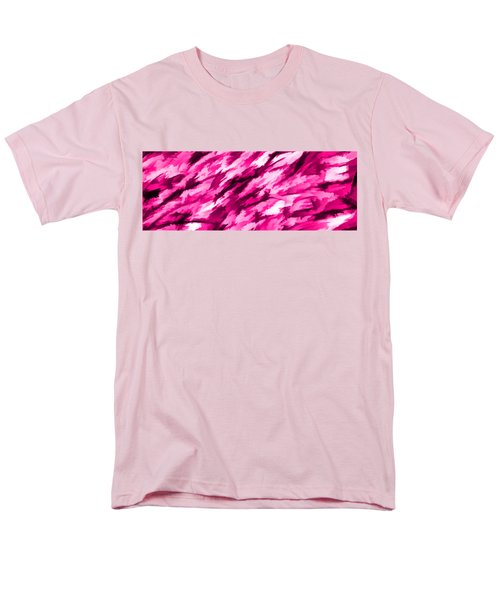 Designer Camo In Hot Pink Men's T-Shirt  (Regular Fit) by Bruce Stanfield