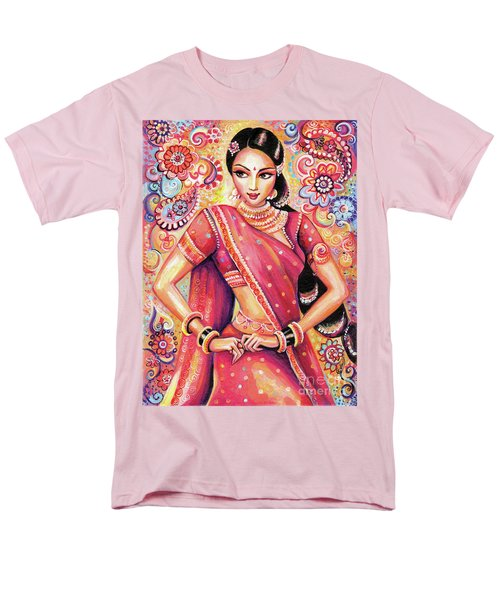 Men's T-Shirt  (Regular Fit) featuring the painting Devika Dance by Eva Campbell