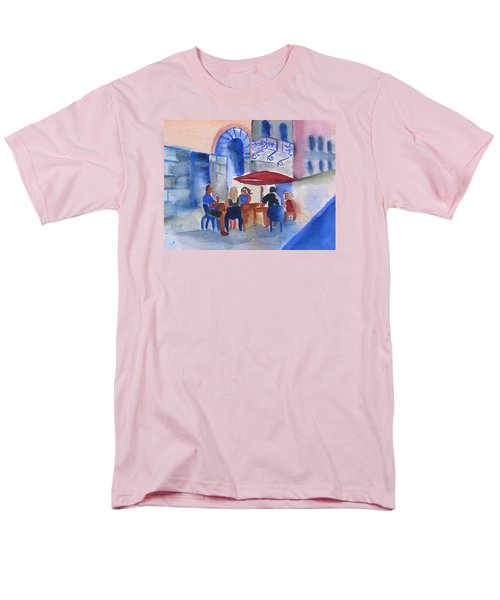 Dinner In Old San Juan Men's T-Shirt  (Regular Fit) by Frank Bright
