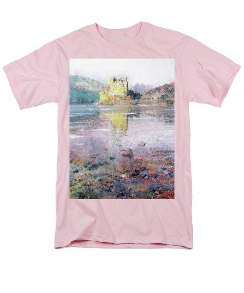 Eilean Donan Castle  Men's T-Shirt  (Regular Fit) by Richard James Digance