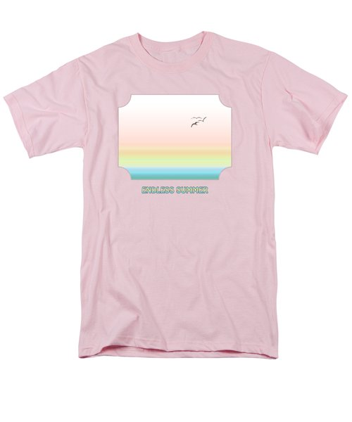 Endless Summer - Pink Men's T-Shirt  (Regular Fit) by Gill Billington