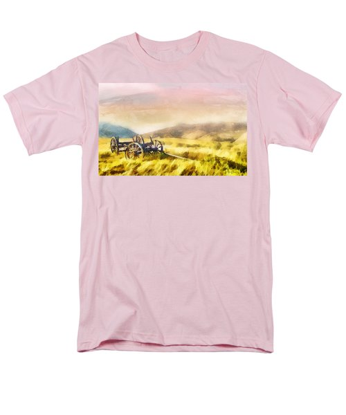 Men's T-Shirt  (Regular Fit) featuring the painting Enduring Courage by Greg Collins