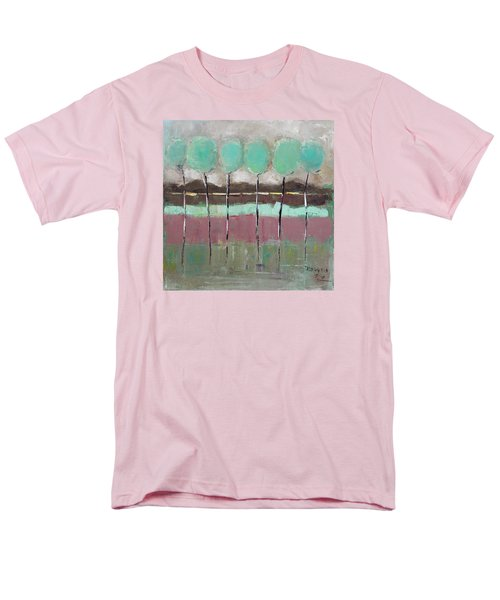 Men's T-Shirt  (Regular Fit) featuring the painting Going Out by Becky Kim