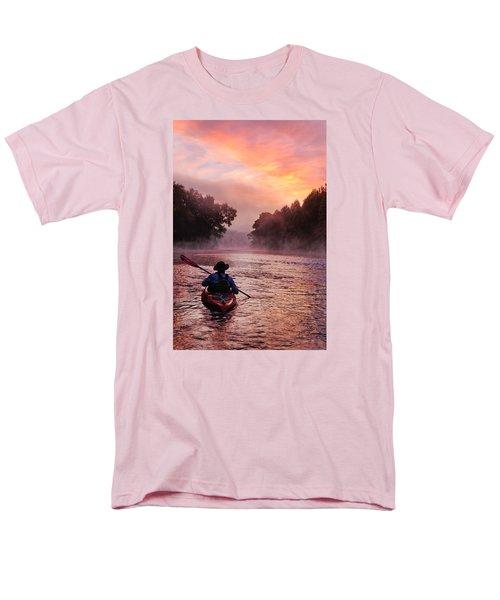 Following The Light Men's T-Shirt  (Regular Fit) by Robert Charity
