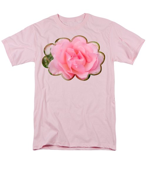 Men's T-Shirt  (Regular Fit) featuring the photograph Fragrant Cloud Rose by Jane McIlroy