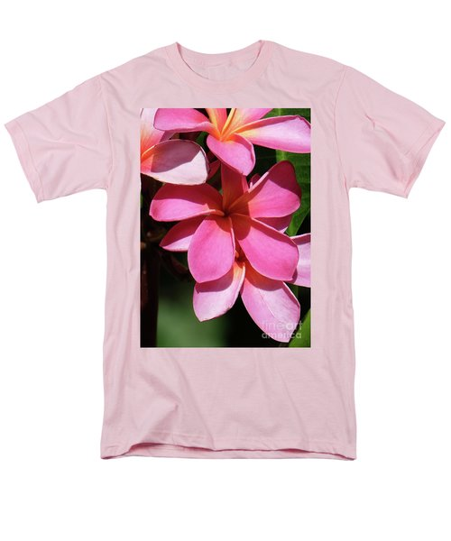 Frangipani Men's T-Shirt  (Regular Fit) by Mini Arora