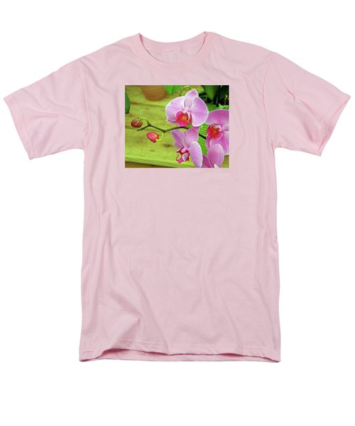 Men's T-Shirt  (Regular Fit) featuring the photograph Grace In Space by Lynda Lehmann