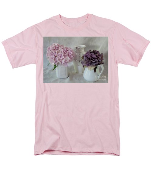 Men's T-Shirt  (Regular Fit) featuring the photograph Grandmother's Vanity Top by Sherry Hallemeier