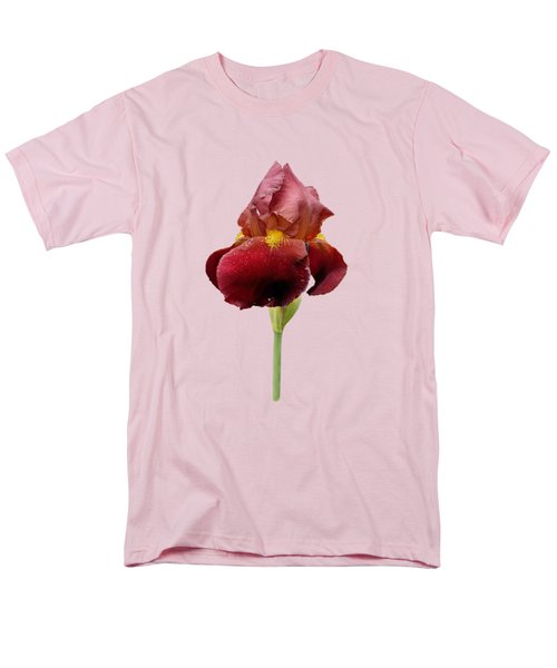 Iris Vitafire Transparent Background Men's T-Shirt  (Regular Fit) by Paul Gulliver