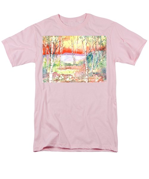 Men's T-Shirt  (Regular Fit) featuring the painting Ivan's Eve by Renate Nadi Wesley