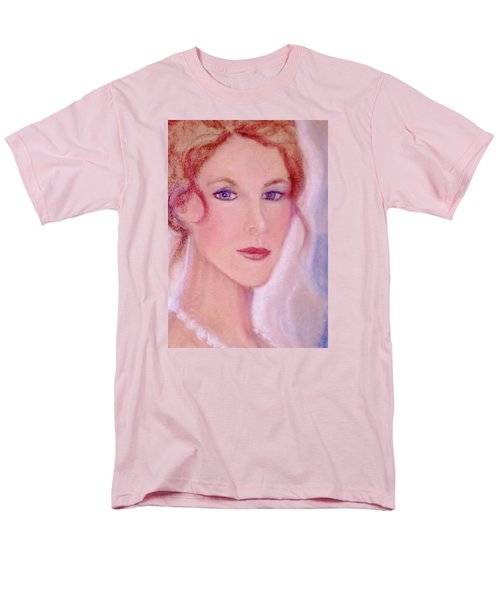 Men's T-Shirt  (Regular Fit) featuring the drawing Kate by Denise Fulmer