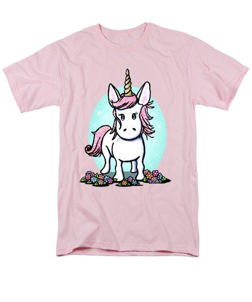 Kiniart Unicorn Sparkle Men's T-Shirt  (Regular Fit)