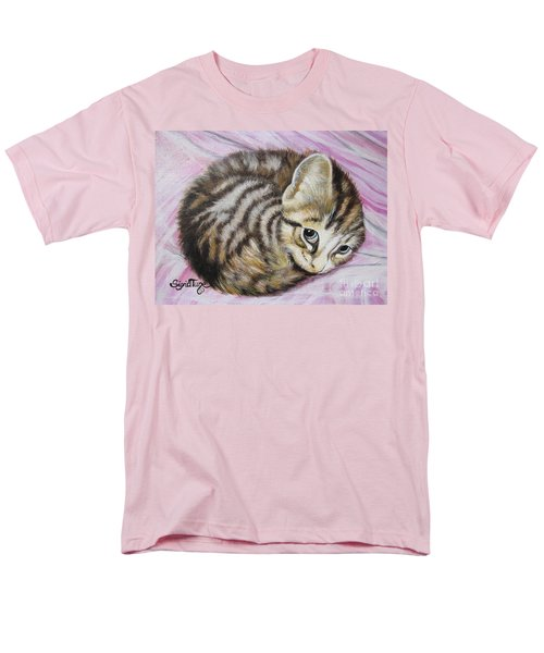 Men's T-Shirt  (Regular Fit) featuring the painting Lucy Girl by Sigrid Tune