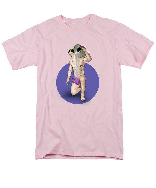 Male Nude Art Comics  Aquarius Men's T-Shirt  (Regular Fit)