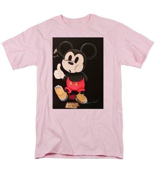 Mickey On Tap Men's T-Shirt  (Regular Fit)