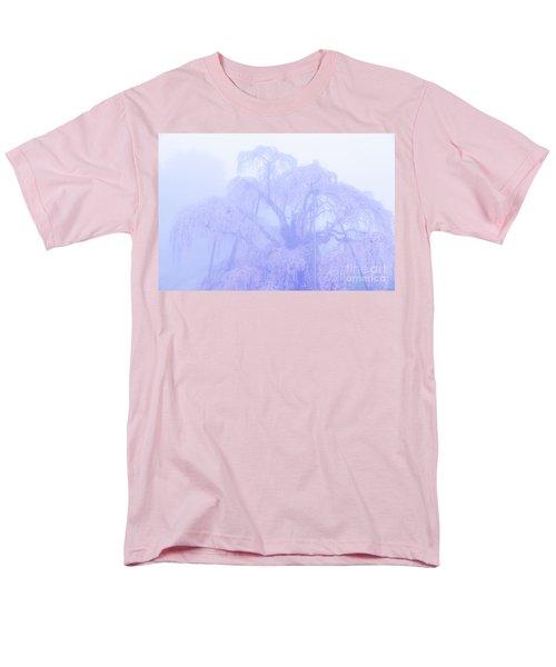Miharu Takizakura Weeping Cherry01 Men's T-Shirt  (Regular Fit) by Tatsuya Atarashi