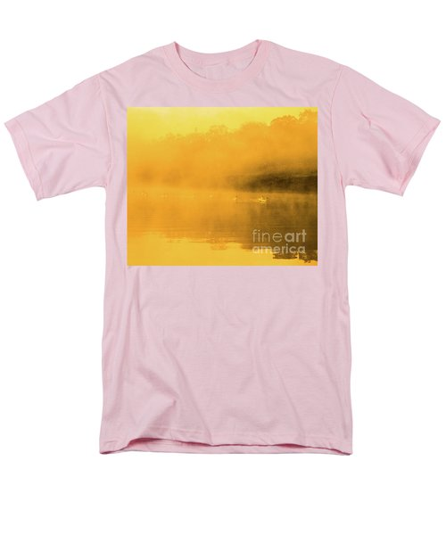 Misty Gold Men's T-Shirt  (Regular Fit) by Tatsuya Atarashi