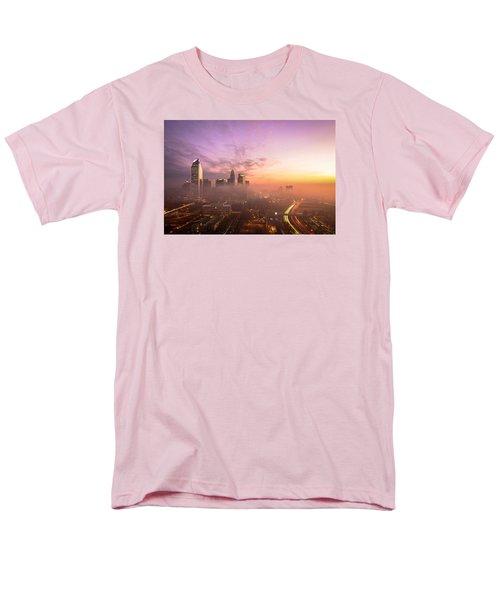 Morning Charlotte Rush Hour Men's T-Shirt  (Regular Fit) by Serge Skiba