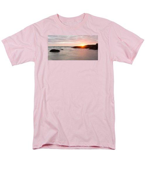 Morning Sun Good Harbor Men's T-Shirt  (Regular Fit) by Michael Hubley
