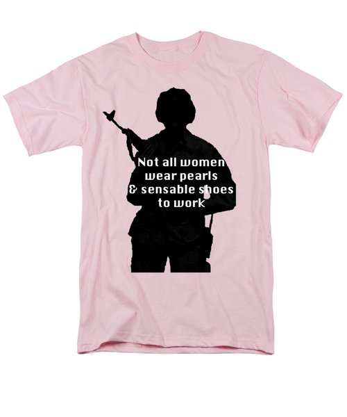 Men's T-Shirt  (Regular Fit) featuring the photograph Not All Women by Melany Sarafis