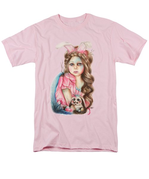 Only Friend In The World - Bunny Men's T-Shirt  (Regular Fit) by Sheena Pike