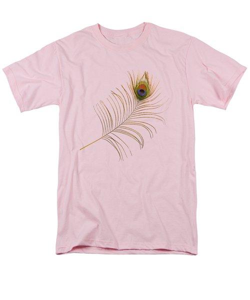 Peacock Feather Men's T-Shirt  (Regular Fit) by Bradford Martin