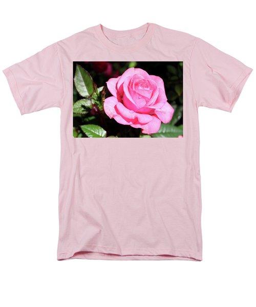 Pink Rose Men's T-Shirt  (Regular Fit) by Ronda Ryan