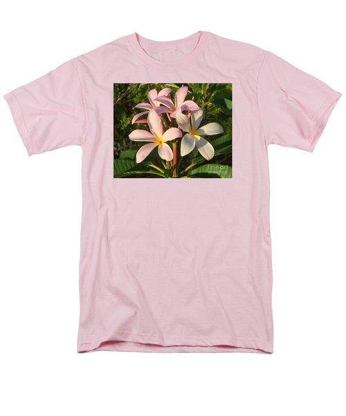 Plumeria Heaven Men's T-Shirt  (Regular Fit) by LeeAnn Kendall