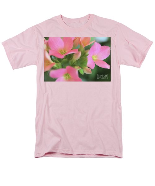 Pretty In Pink Men's T-Shirt  (Regular Fit) by Victor K