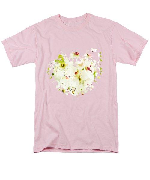 Pretty Pear Petals Men's T-Shirt  (Regular Fit) by Anita Faye