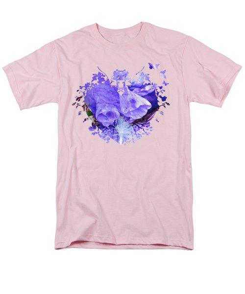 Pretty Purple Men's T-Shirt  (Regular Fit) by Anita Faye