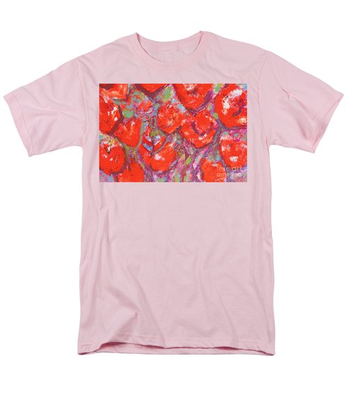 Red Poppies Men's T-Shirt  (Regular Fit) by Gallery Messina