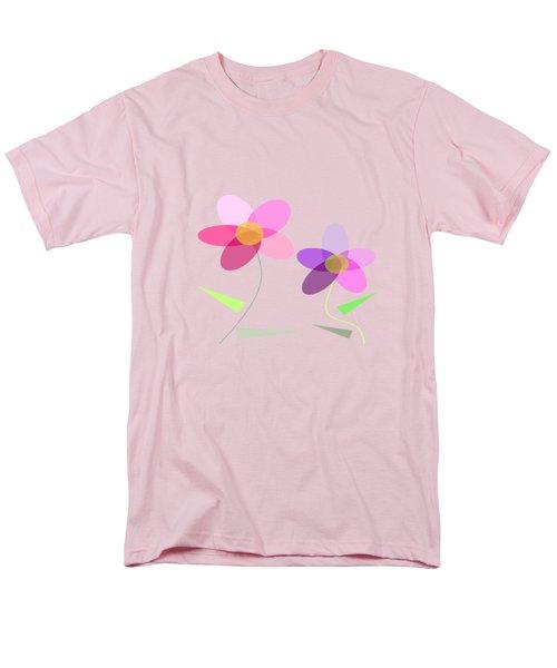 Rows Of Flowers Men's T-Shirt  (Regular Fit) by Kathleen Sartoris