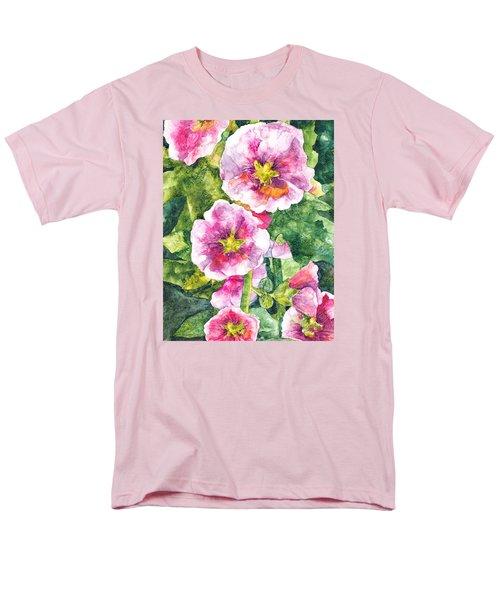 Men's T-Shirt  (Regular Fit) featuring the painting Secret Garden by Casey Rasmussen White