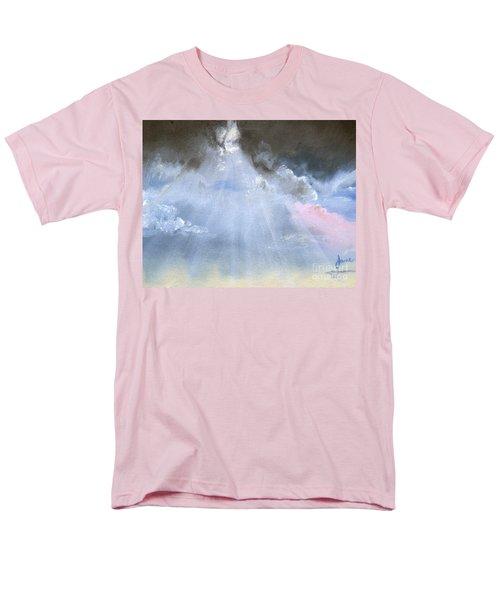 Silver Lining Behind The Dark Clouds Shining Men's T-Shirt  (Regular Fit)