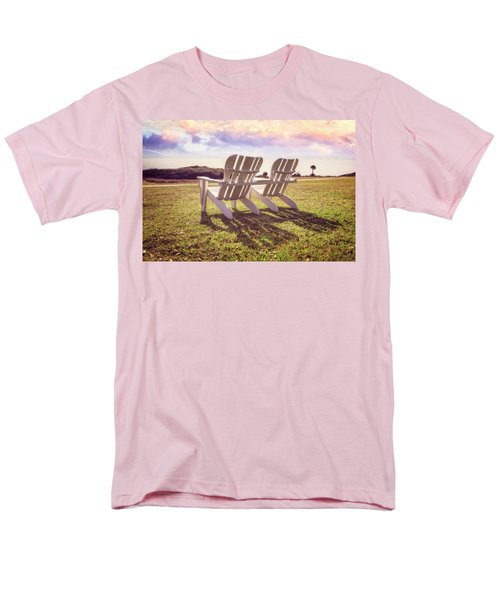 Men's T-Shirt  (Regular Fit) featuring the photograph Sitting In The Sun by Debra and Dave Vanderlaan