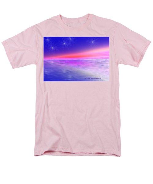 Song Of Night Sea Men's T-Shirt  (Regular Fit) by Dr Loifer Vladimir