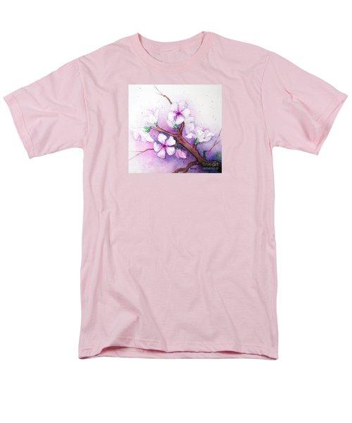 Spring Blooms Men's T-Shirt  (Regular Fit) by Rebecca Davis