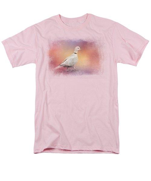 Spring Eurasian Collared Dove Men's T-Shirt  (Regular Fit) by Jai Johnson