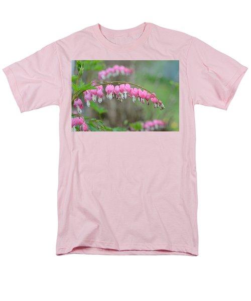 Spring Hearts Men's T-Shirt  (Regular Fit) by Janet Rockburn