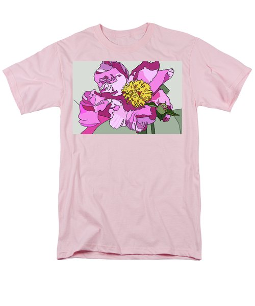 Spring Pink Men's T-Shirt  (Regular Fit) by Jamie Downs