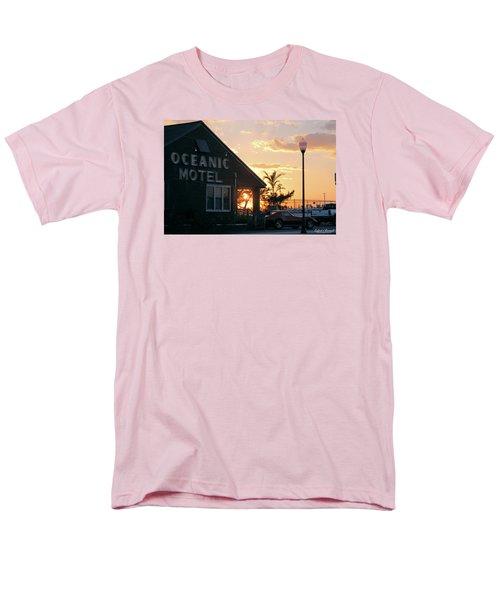 Sunset At Oceanic Motel Men's T-Shirt  (Regular Fit)