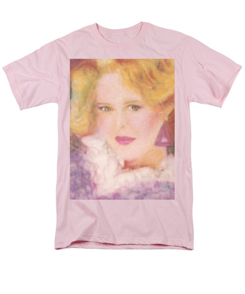Men's T-Shirt  (Regular Fit) featuring the drawing Sylvia by Denise Fulmer