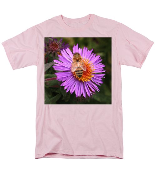 The Aster And The Bee Men's T-Shirt  (Regular Fit) by Laurel Talabere