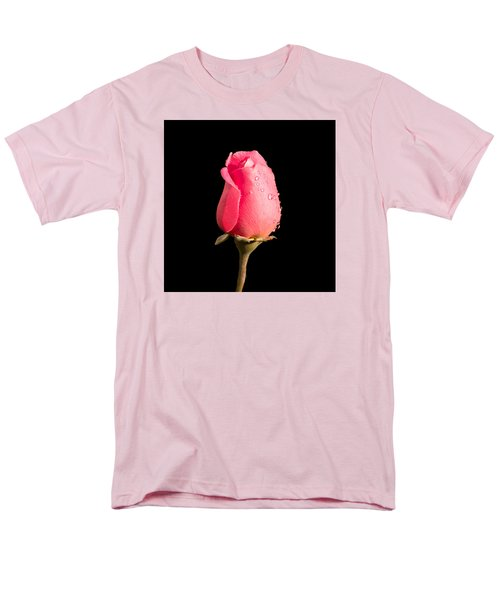 The Beauty Of A Rose Men's T-Shirt  (Regular Fit) by Ed Clark