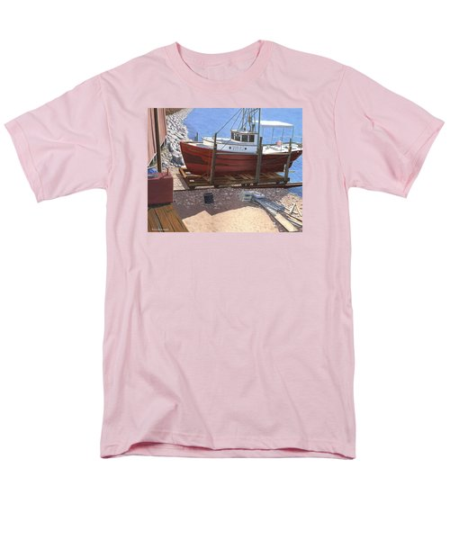 The Red Troller Men's T-Shirt  (Regular Fit) by Gary Giacomelli