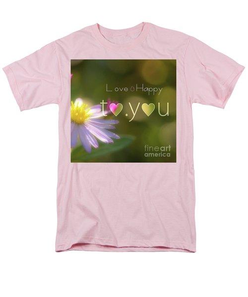 To You #003 Men's T-Shirt  (Regular Fit) by Tatsuya Atarashi